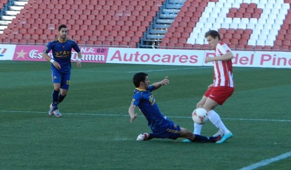 El UCAM Murcia da la sorpresa ante el Almería B