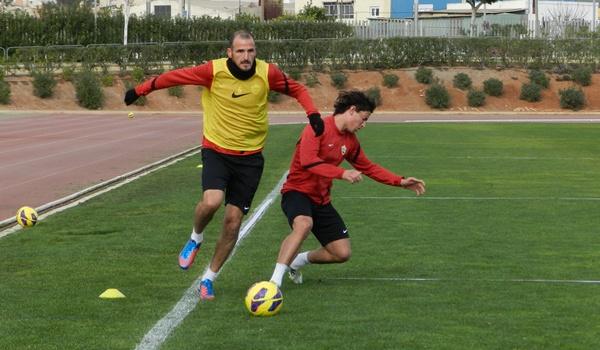El mediopunta del Almería piensa en el ascenso desde Liga Adelante a Liga BBVA