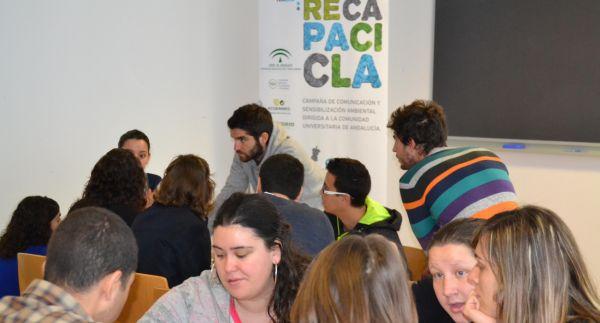Alumnos participantes taller Recapacicla