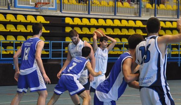 La Universidad de Almería contra la de Granada en Basket