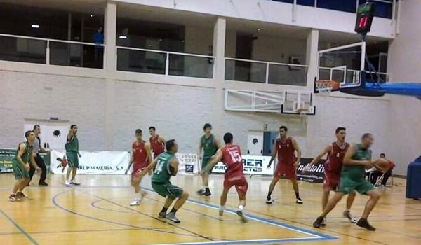Basket en Primera División Nacional entre equipos de la provincia disputado en El Ejido
