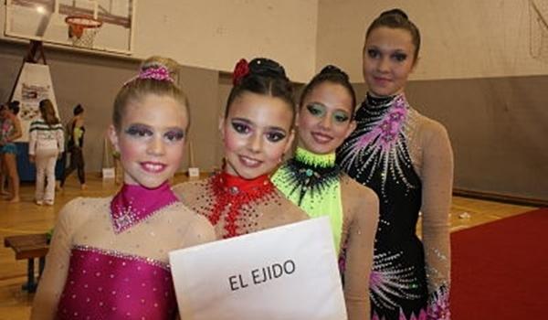 Gimnasia Rítmica de Almería en Cádiz con dos medallas