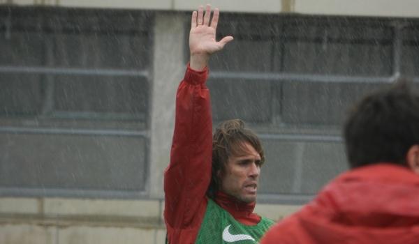 El capitán de la UD Almería habla antes de Las Palmas