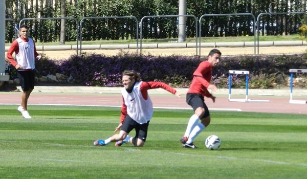 Habla el capitán de la UD Almería tras el Sporting y antes del Huesca