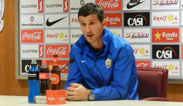 El entrenador del Almería busca el ascenso a la Liga BBVA
