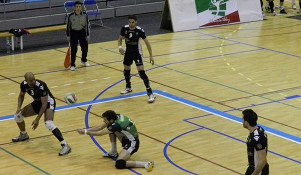 Unicaja Almería y Numancia de Voley en las semifilanes de la Superliga de Voleibol de España