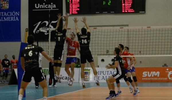 Unicaja ante Numancia Voley en la Superliga, gran voleibol en España