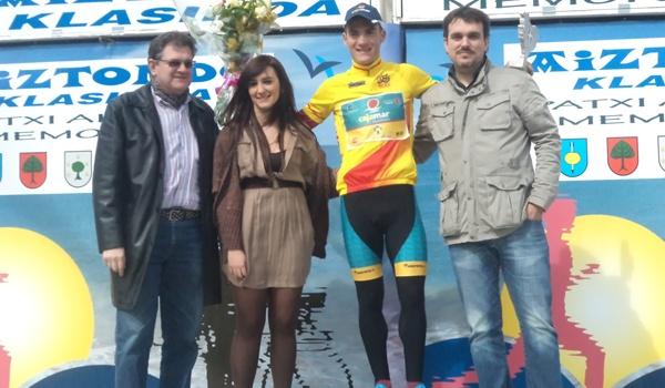 Líder de la Copa de España de ciclismo élite/Sub 23 del equipo de Almería