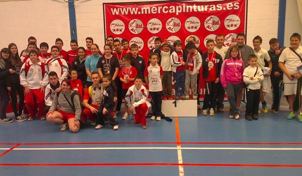 Concentración del Patronato Municipal de Deportes con 80 deportistas