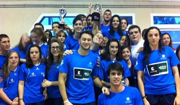 Natación Universidad de Almería campeona provincial