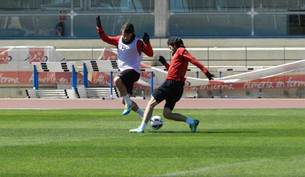 UD Almería en el tramo final de la Liga Adelante