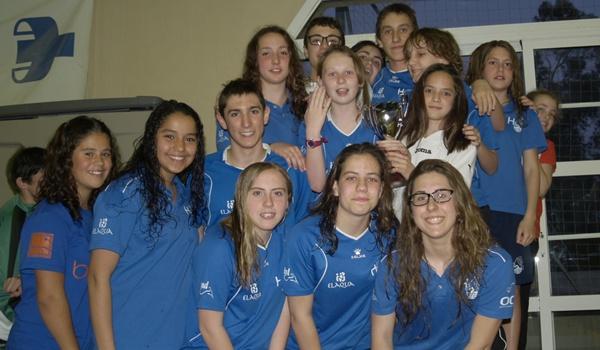 Subcampeón de Almería de natación tras la Universidad
