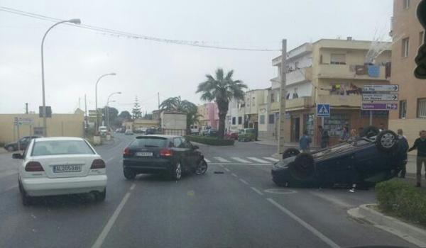 Accidente de tráfico en El Ejido (Almería)
