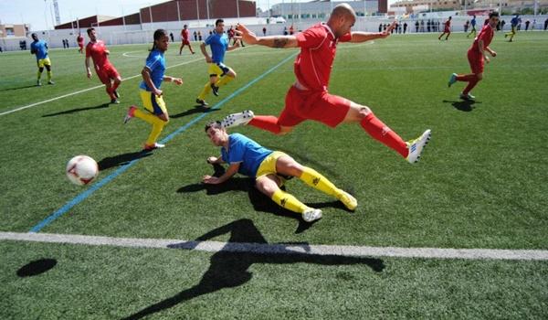Tercera División en el grupo noveno equipo de Almería contra equipo de Málaga