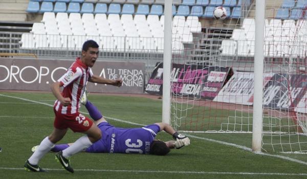 La UD Almería B tira de juveniles en Segunda División B y busca la promoción a Liga Adelante