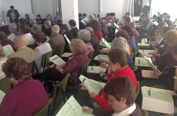 Encuentro anual de Cáritas Almeria 2013