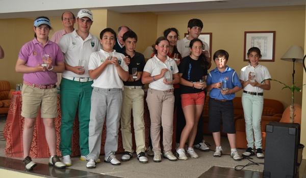 Federación Andaluza de Golf en Almería, en Vera, con su circuito juvenil