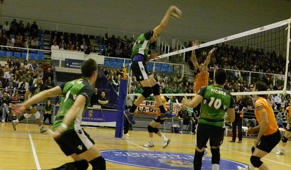 Unicaja Almería está cerca de lograr su novena Superliga de Voleibol