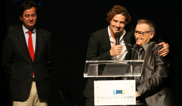 El Poniente de Almería vio nacer a Escobar, siempre inspiración para Bisbal
