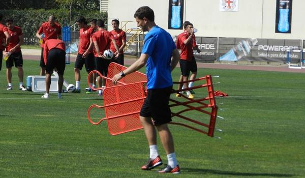 El entrenador de la UD Almería ha hablado del Numancia, su próximo rival en la Liga Adelante