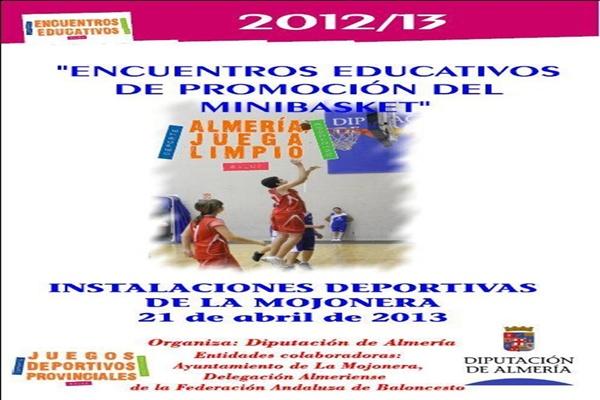 Encuentros educativos con la Diputación de Almería y baloncesto