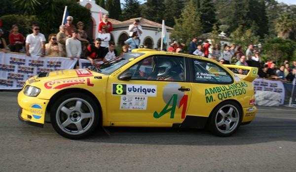 Automovilismo de Rallyes con el piloto de Vícar (Almería) como favorito