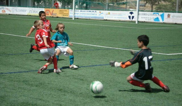 Selección de Andalucía Sub-12 para la niña de Vélez Rubio