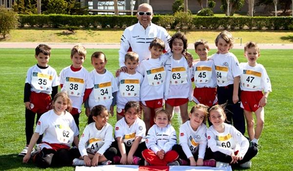 Atletas de Almería dirige la escuela de Atletismo