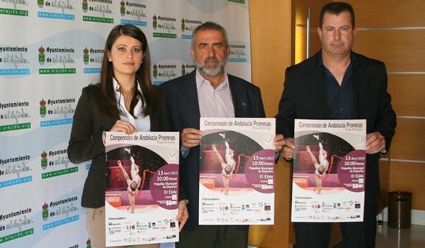El Ejido será sede del Campeonato de Andalucía Promesas de Gimnasia Rítmica