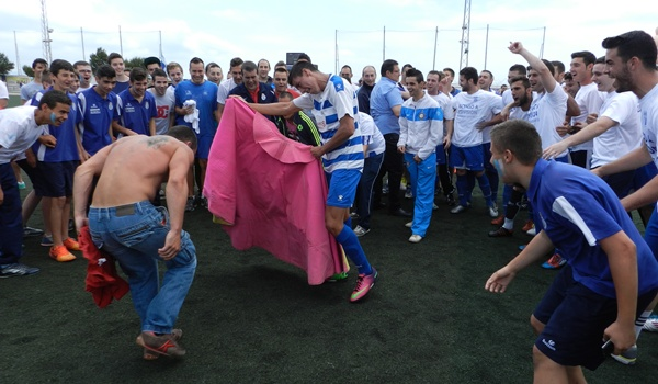 Equipo de Almería que asciende desde Primera División Andaluza a Tercera División Nacional