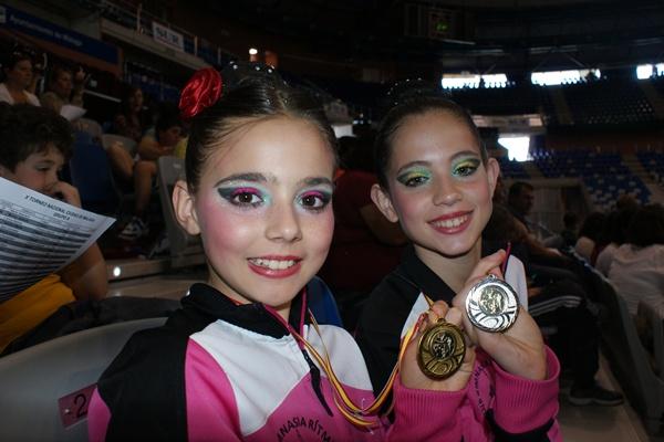 La gimnasia rítmica está plena de campeonatos y a ellos acuden este club de la provincia de Almería