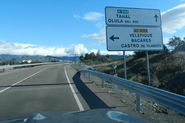 Dos accidentes de tráfico en Chercos y La Mojonera en la provincia de Almería