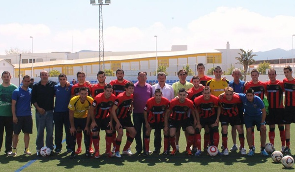 Tercera División en su grupo XIII de la Región de Murcia con dos equipos de Almería, Pulpí y Huércal Overa
