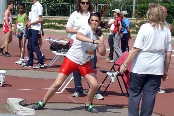 Atletismo con Atletas de Almería en peso con mínima para el Campeonato de España