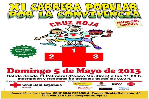 Carrera solidaria en Almería