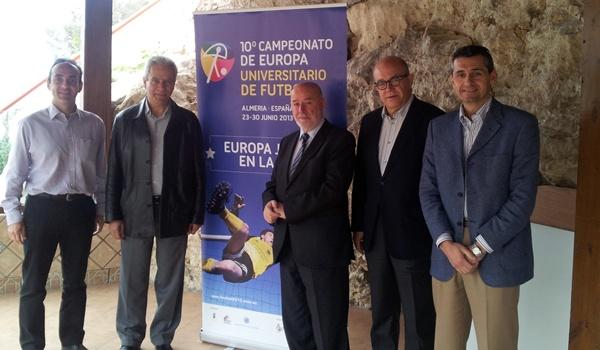 Universidad de Almería con universidades de toda Europa