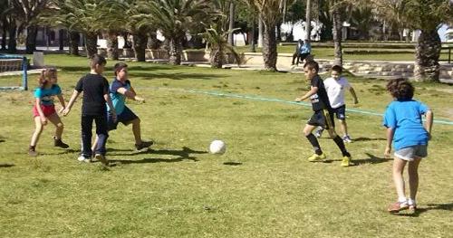 Deporte base en la localidad de la provincia de Almería