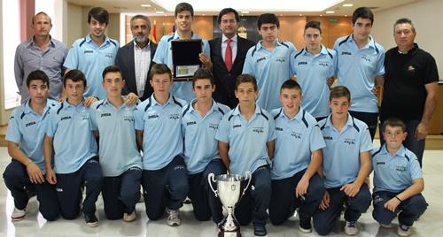 Campeón de Andalucía cadete