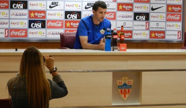 La UD Almería busca el ascenso a Primera División desde la Liga Adelante
