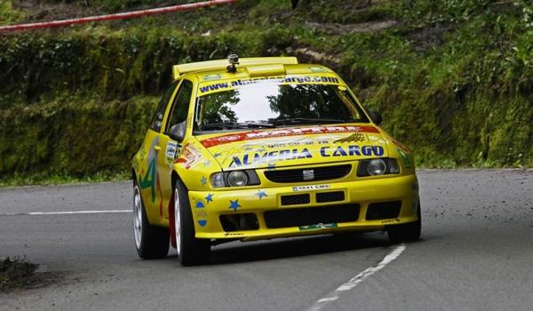 Piloto de Vícar (Almería) en el Campeonato de España de Montaña de Rallye