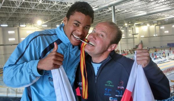 El saltador de Atletas de Almería acudirá a los Juegos Europeos de la Juventud de Atletismo