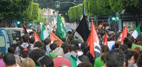 Contra la Ley Wert en Almería