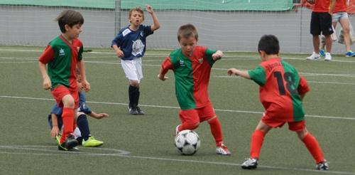 El equipo de Almería en la Baby World Cup de Estepona