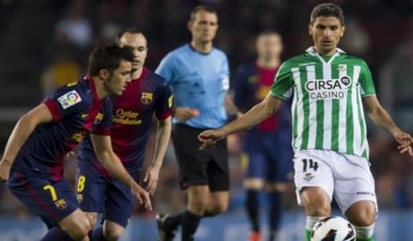 Jugador del Betis nacido en Berja (Almería) para la Selección de Andalucía ante Madrid