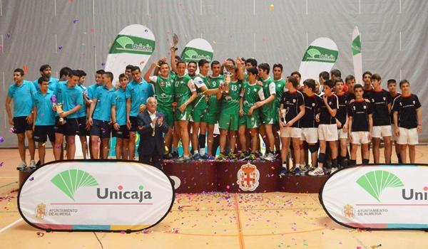 El equipo de Almería se ha proclamado en mejor del voleibol andaluz y va al de España