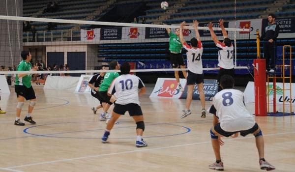 Campeonato de Andalucía de voleibol cadete con Unicaja a por el título en Almería