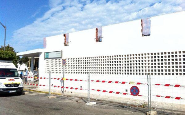 obras del centro de salud