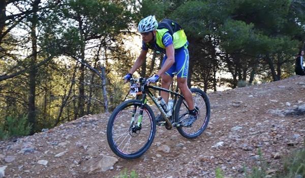 Equipo de ciclismo de Pulpí en el Open de España