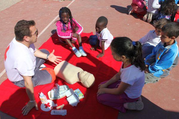Cruz Roja en Vícar
