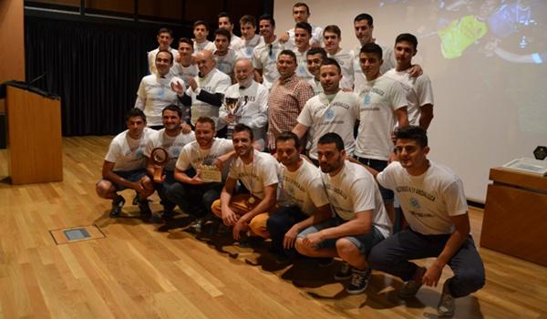 Universidad de Almería y el fútbol con campeonato de Europa